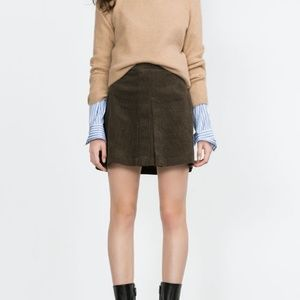 Corduroy Mini Skirt (NWT)